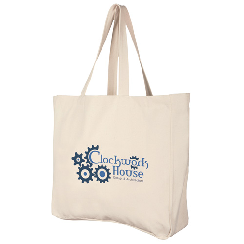 Build A Bag Deluxe Natural Cotton Shopper in