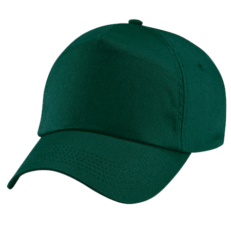 Original Cotton Cap in bottle-green
