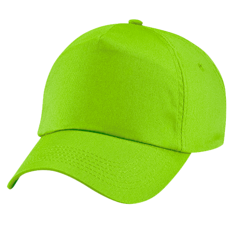 Original Cotton Cap in lime-green