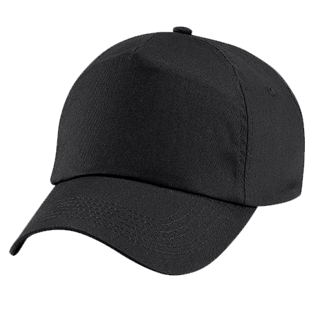 Kids Original Cotton Cap in black