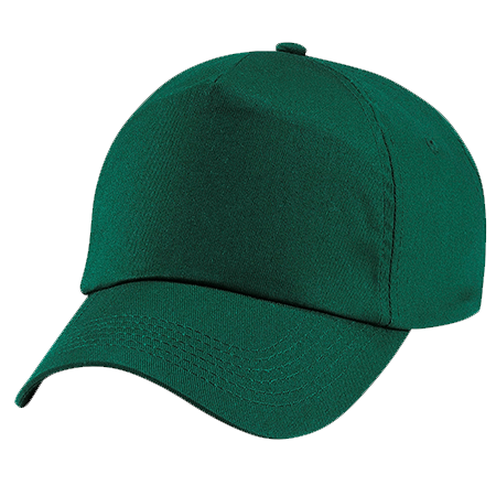 Kids Original Cotton Cap in bottle-green