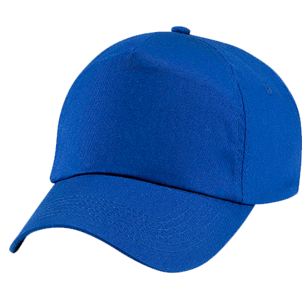 Kids Original Cotton Cap in bright-royal