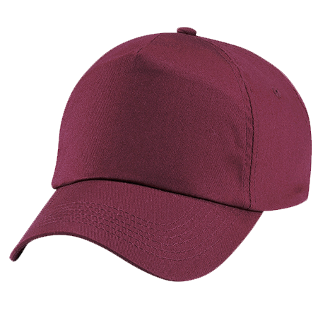 Kids Original Cotton Cap in burgundy