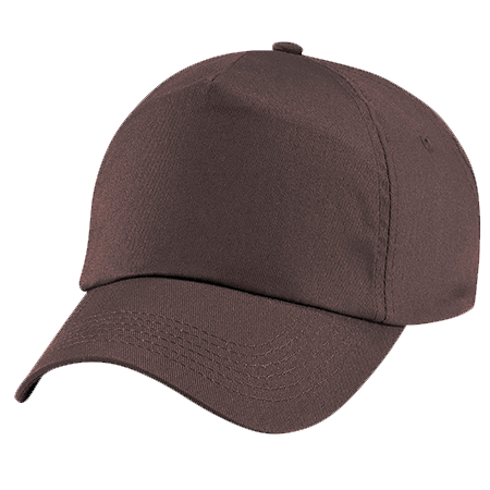 Kids Original Cotton Cap in chocolate
