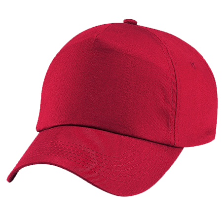 Kids Original Cotton Cap in classic-red