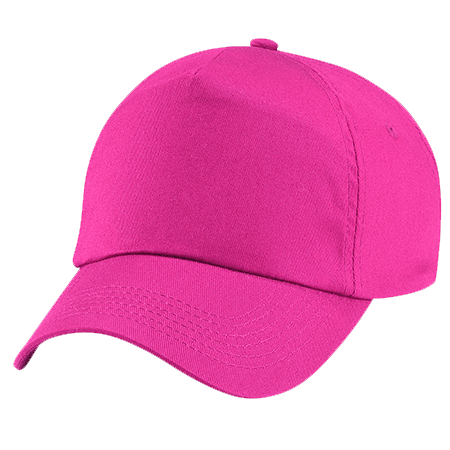 Kids Original Cotton Cap in fuchsia