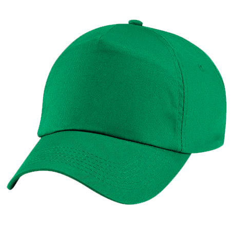 Kids Original Cotton Cap in kelly-green