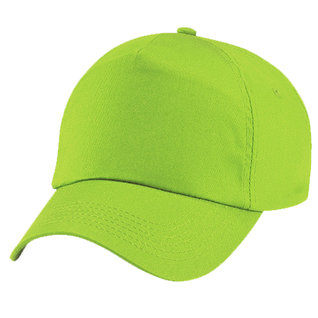 Kids Original Cotton Cap in lime-green
