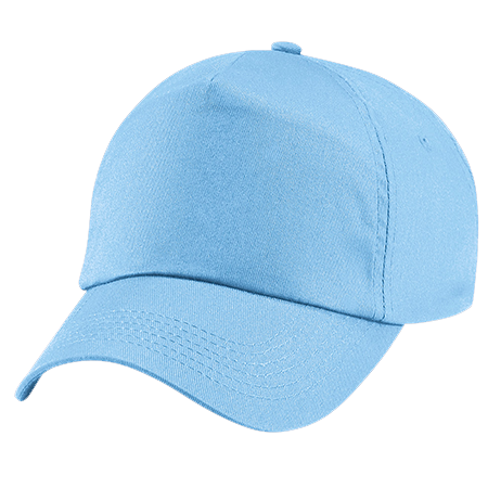 Kids Original Cotton Cap in sky-blue