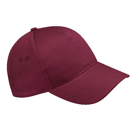 Ultimate Cotton Cap in burgundy