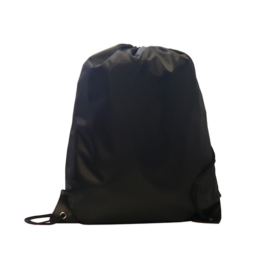 Burton 210d Polyester Drawstring Bag in black