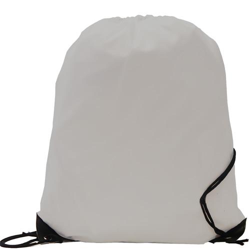 Burton 210d Polyester Drawstring Bag in grey