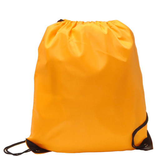 Burton 210d Polyester Drawstring Bag in orange