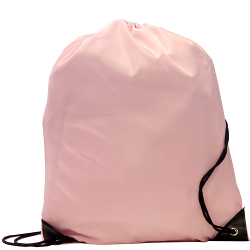 Burton 210d Polyester Drawstring Bag in pink