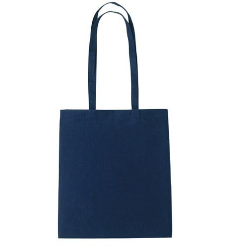 Dunham 5oz Premium Natural Cotton Shopper Bag in navy