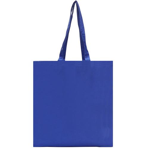 Dunham 5oz Premium Natural Cotton Shopper Bag in royal-blue