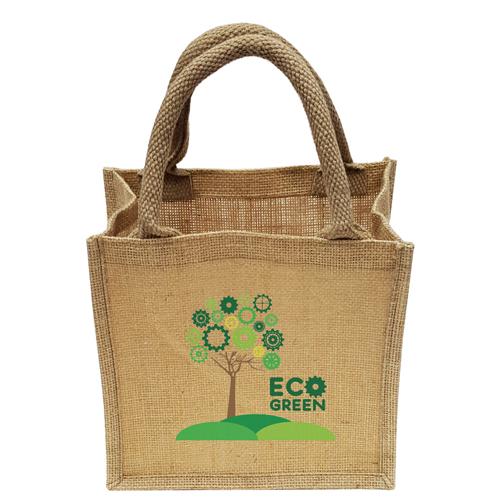 Mini Natural Jute Eco Shopper