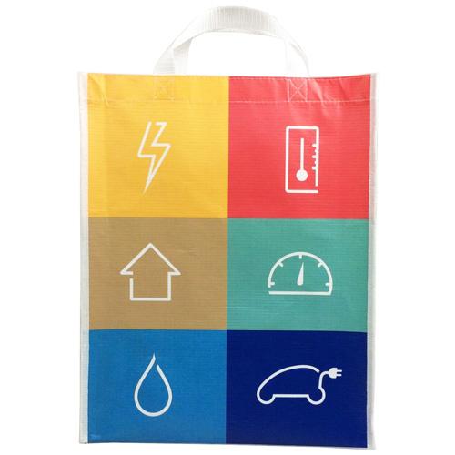 Small Non-woven Shopping Bag With A Gusset