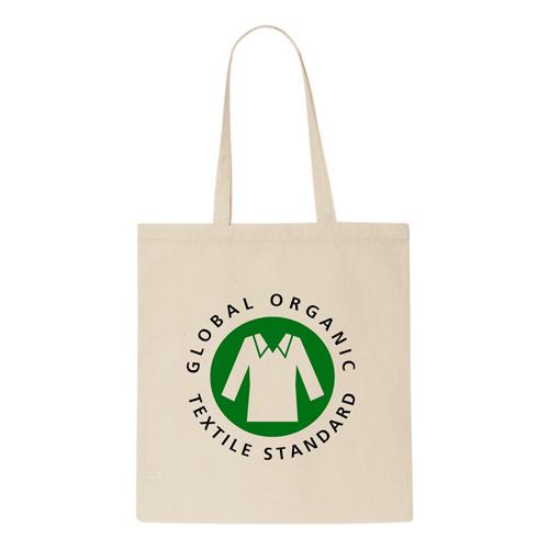 Organic 5oz Natural Cotton Shopper Bag