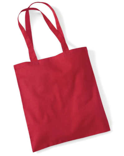Westford Mill Bag For Life in Classic Red