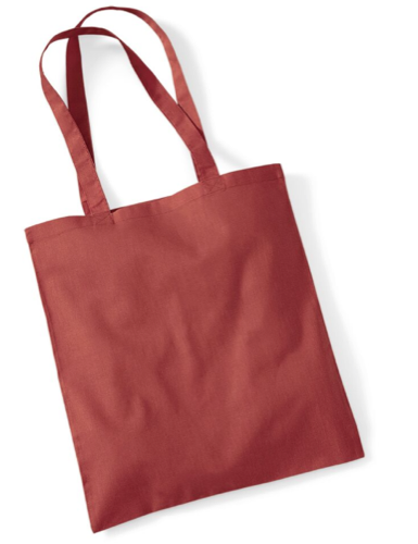 Westford Mll Bag For Life in Orange Rust
