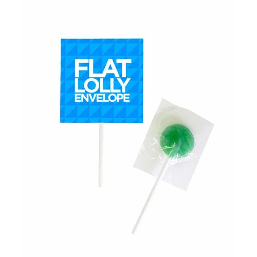 Flat Lolly Envelope