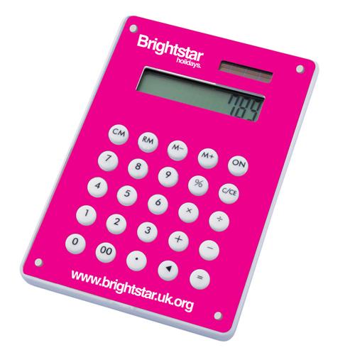 Image Calculator in magenta