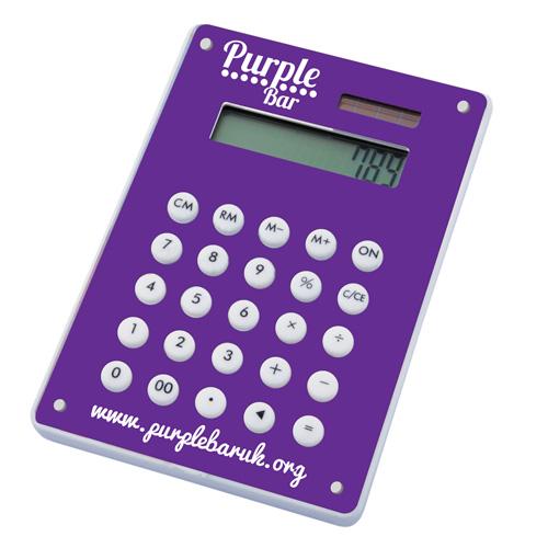 Image Calculator in purple