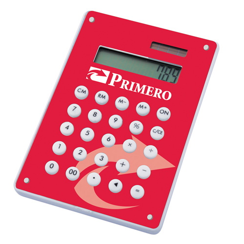 Image Calculator in red
