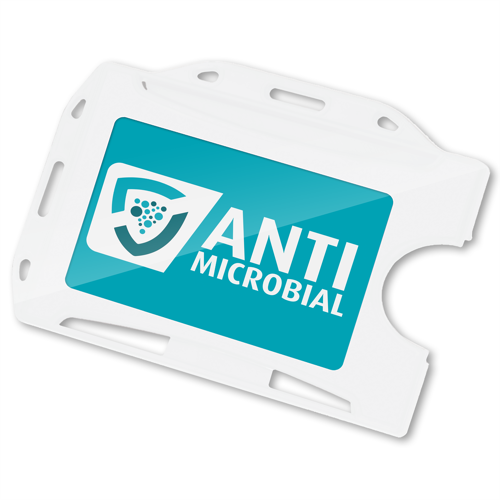 AntiMicrobial Printed ID Card Holder