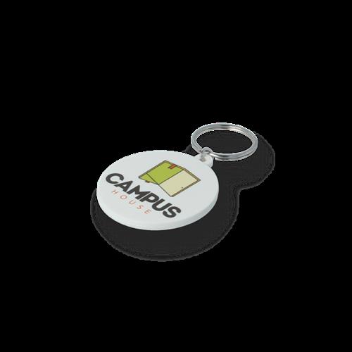 45mm Circle Keyring