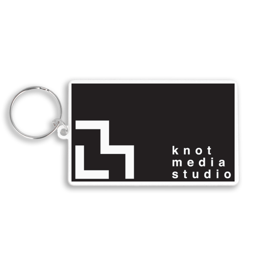 80X50Mm Rectangular Keyring