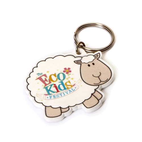 Sheep Shaped Keyring