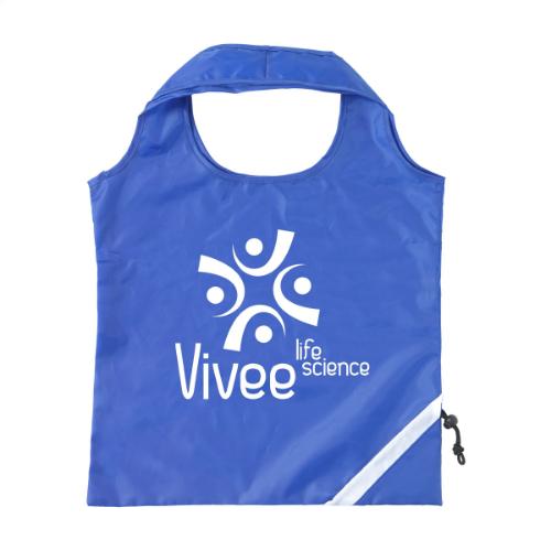 Strawberry Foldable Bag Blue
