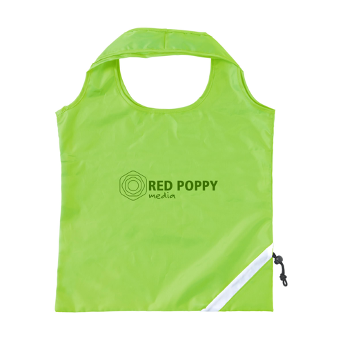 Strawberry Foldable Bag Lime