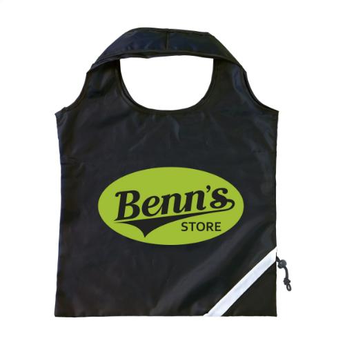 Strawberry Foldable Bag Black