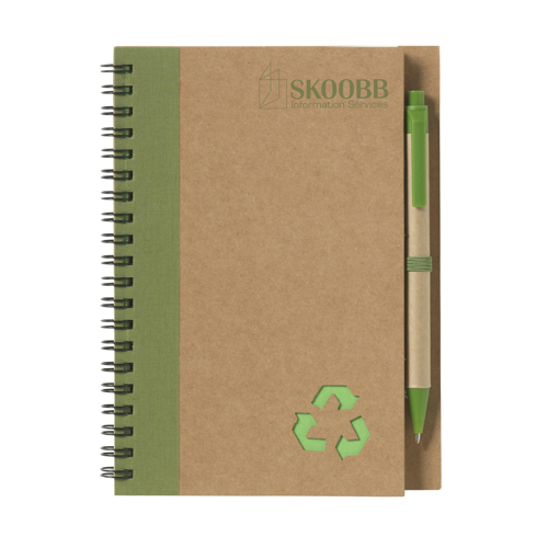 Recycle Note-L Notebook Green