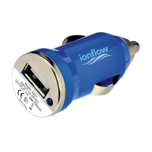 Usb Carcharger Plug Blue