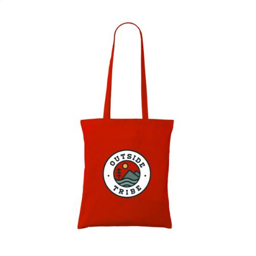 Shoppycolourbag Cotton Bag Red