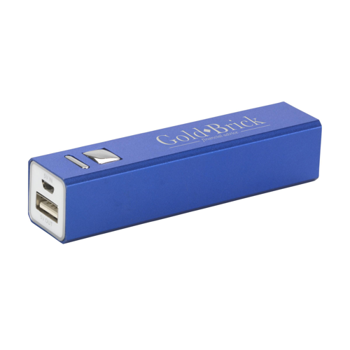 Powercharger 2600 Powerbank Blue