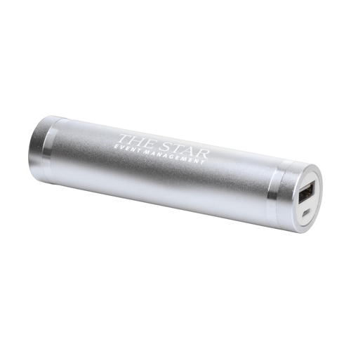 Powercharger 2000 Powerbank Silver