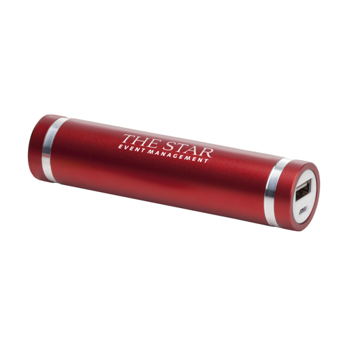 Powercharger 2000 Powerbank Red