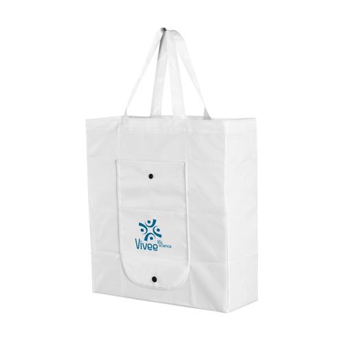 Foldy Foldable Shopping Bag White