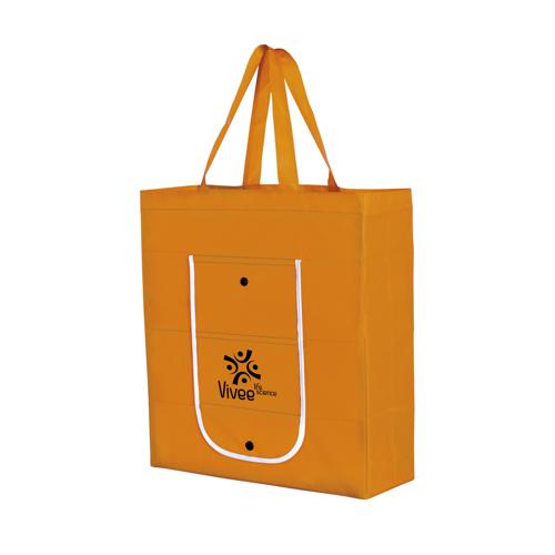 Foldy Foldable Shopping Bag Orange