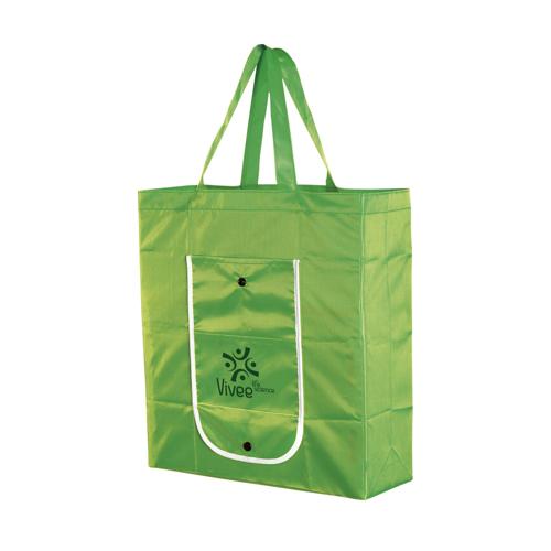 Foldy Foldable Shopping Bag Green