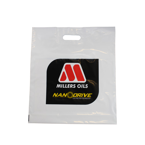 12 Inch Patch Turn Over Top Bags - Printed 1 Side