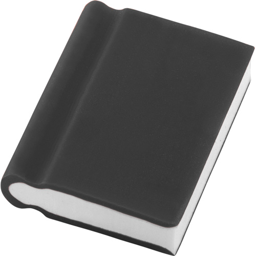Eraser - Book Shape in black