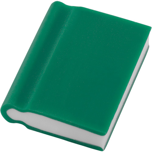 Eraser - Book Shape in green