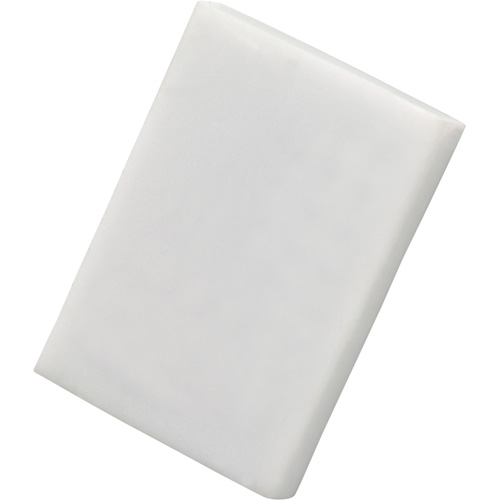 Eraser - Colourful in white