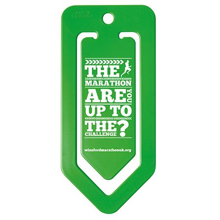 Jumbo Paper Clip in green